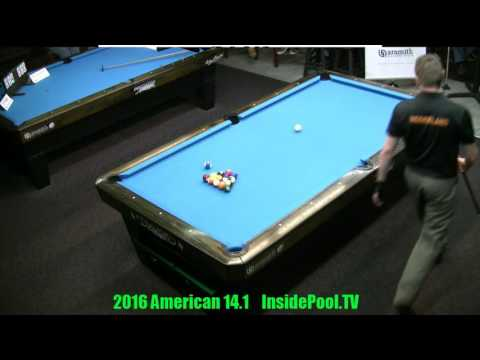 2016 American 14 1 Tournament Finals Niels Feijen VS Mika Immonen