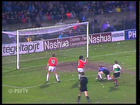 PSV - N.E.C. (10 februari 1990) 6-0