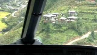 Most Dangerous Landing in the World - Bhutan..