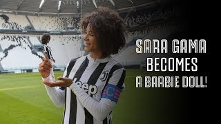 Juventus Women's Sara Gama honored with Sheroes Doll!