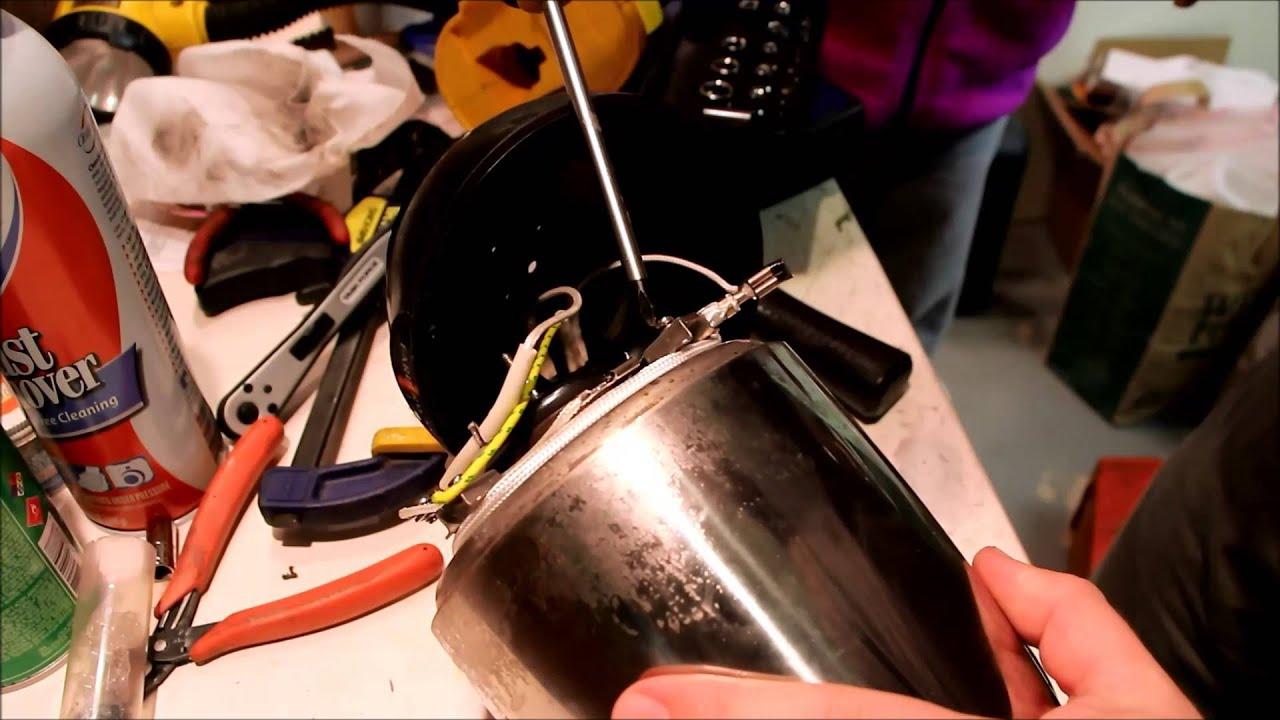 farberware coffee maker percolator thermostat fix repair - YouTube