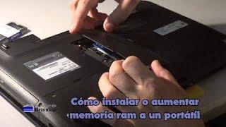 Instalar memoria ram a un portátil