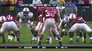 2008 Iron Bowl - Auburn vs. #1 Alabama (HD)