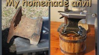 My homemade anvil