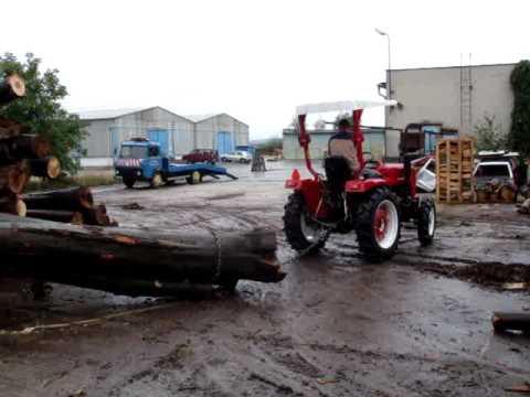 malotraktory JINMA244 taha drevo