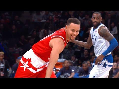 Warriors 2016 All-Star Game Highlights ( Stephen Curry, Klay Thompson & Draymond Green )