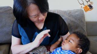 GRANDMA ( 할머니)  FINALLY VISITS | AMBW VLOG