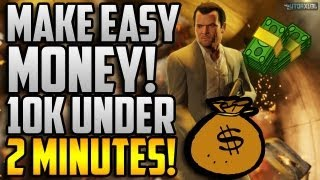 GTA 5 Online: How To Make Easy Money On Multiplayer! How To Make $10k Cash In Under 2 Minutes!
