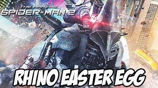 The Amazing Spider Man 2 Rhino Easter Egg