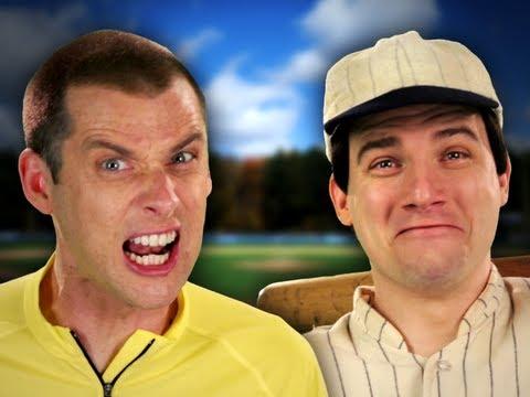 Babe Ruth vs Lance Armstrong. Epic Rap Battles of History Season 2