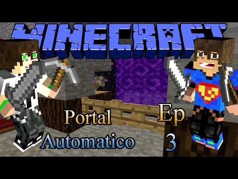 Redstone World - Ep 3 Portal Automatico