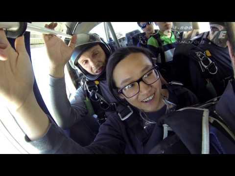 Kristy Goh's Tandem skydive!