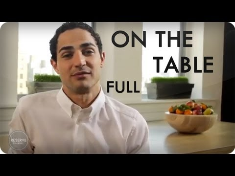 Zac Posen and Eric Ripert Food and Fashion | On The Table Ep. 11 Full | Reserve Channel