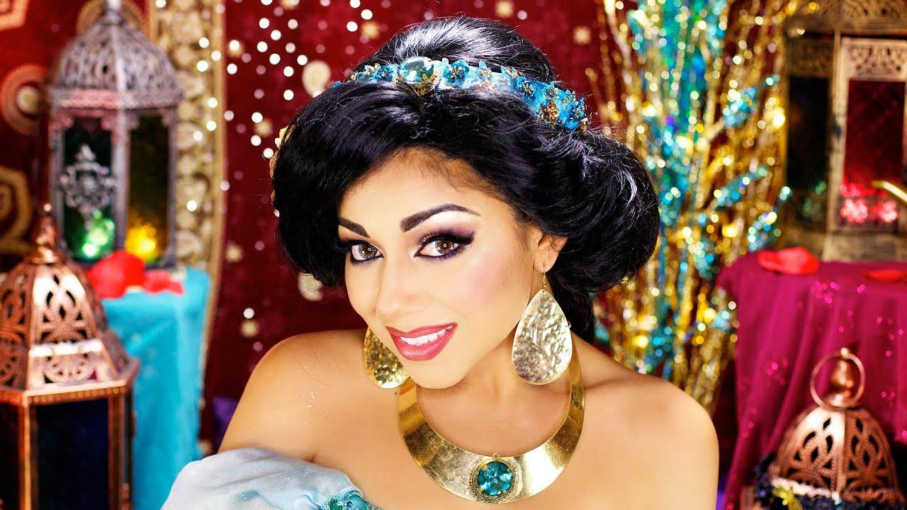 Princess Jasmine Makeup And Hair - Mugeek Vidalondon