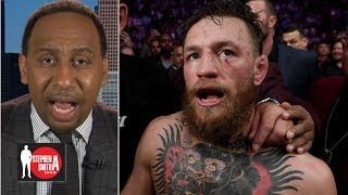 Conor McGregor being fined less than Khabib Nurmagomedov is bogus   Stephen A. Smith Show