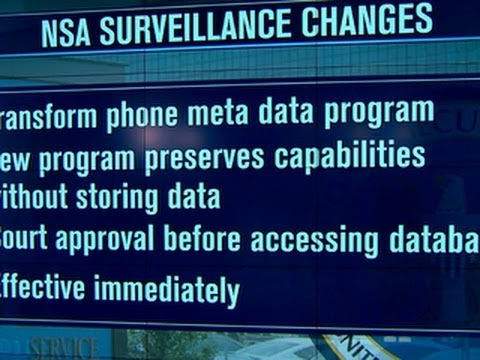 Obama to change NSA phone data program