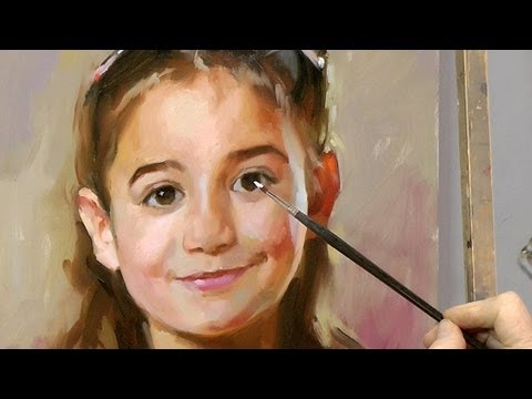 learn how to paint a portrait by ben lustenhouwer youtube