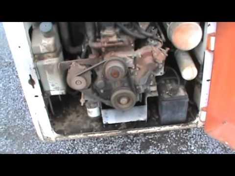 Bobcat 843 Skid Steer Loader For Parts Isuzu Diesel Good