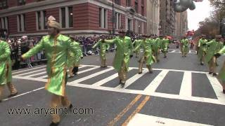 Bollywood Dance In Macy Parade New York-HD
