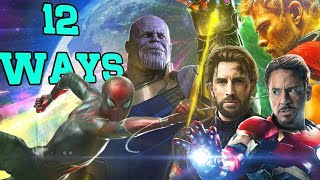 12 Ways Avengers: Infinity War Could End