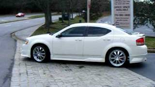 2008 Dodge Avenger 2.4L custom dual exhaust with Magnaflow mufflers! videos