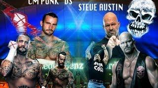 "WWE Wrestlemania 31 Promo ""CM Punk vs Stone Cold Steve Austin"""