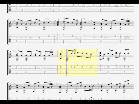 Guitar Pro: Nắng Ấm Xa Dần (Guitar Solo)