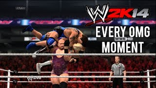 WWE 2K14 How To Perform Every OMG Moment (Spectacular