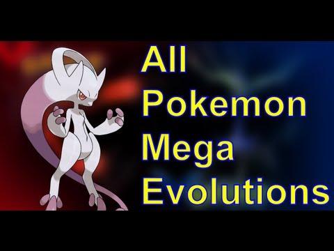 All Pokemon X & Y MEGA EVOLUTIONS (So Far) + Giveaway Contest!