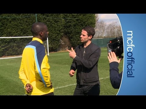 TOURE TALKS ABOUT TRAINING WITH ARSENAL | City Today | 1st April