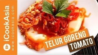Cara Membuat Telur Goreng Tomatto