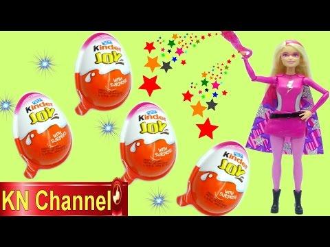 Đồ chơi trẻ em BÚP BÊ CÔNG CHÚA SIÊU NHÂN BARBIE SĂN VÀ BÓC TRỨNG BẤT NGỜ Barbie in Princess power