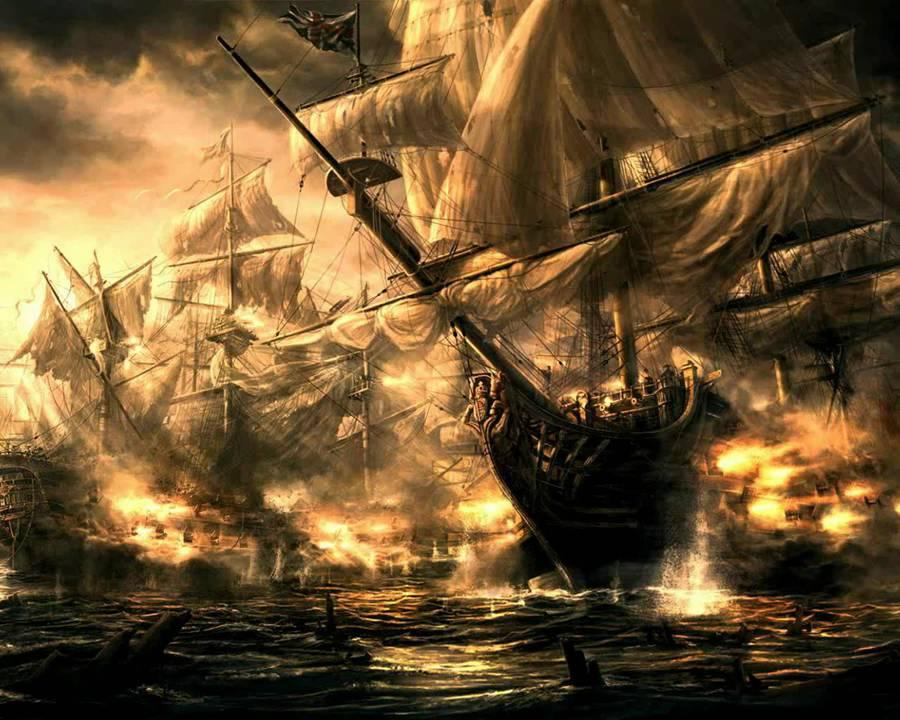 1000 ships of the underworld