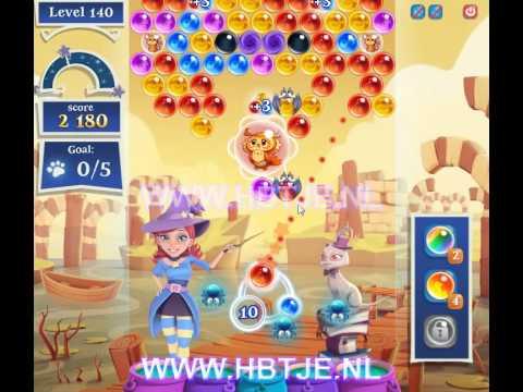 Bubble Witch Saga 2 level 140