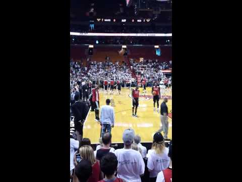 Miami Heat 2013 Red and White Game (Greg Oden) HD