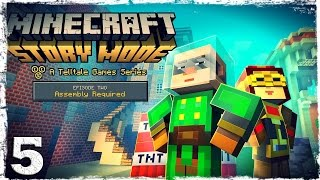 Minecraft Story Mode. #5: Город гриферов.