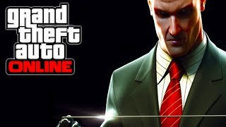 """GTA 5 Online How To Make """"AGENT 47"""" From The Hitman"""