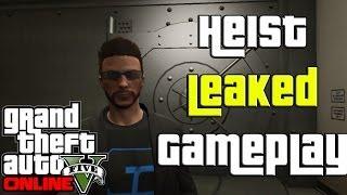 GTA 5 Online Bank Heist Gameplay Leaked (GTA V Heist DLC