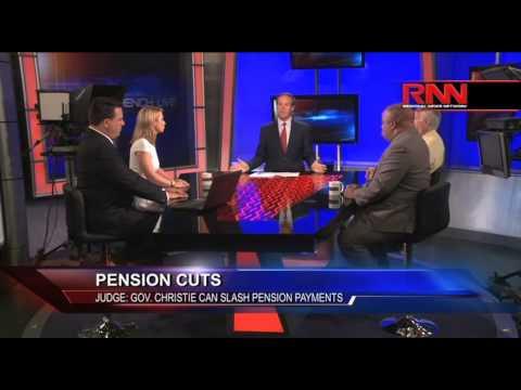 Pension Cuts - Judge: Gov. Christie Can Slash Pension Payments (Part 2 of 2)