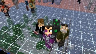 MINECRAFT THE WALLS: UN DURO DIA DE BATALLA CON WILLY,LUZU Y STAXX