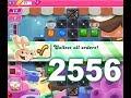 Candy Crush Saga Level 2556 3 stars No boosters