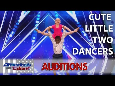Artyon & Paige  Kid Dance | America's Got Talent 2017