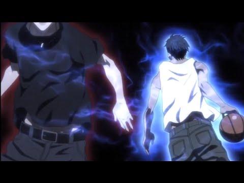 [AMV Kuroko no Basket Kagami vs Aomine ]- Skillet-Monster: pt BR