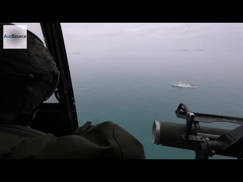 U.S. Navy & Marines in SAR Operations in Response to the Ferry Sewol Sinking