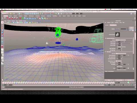 Maya 2011 Create CG Explosions in Space Tutorial by Stuart Christensen