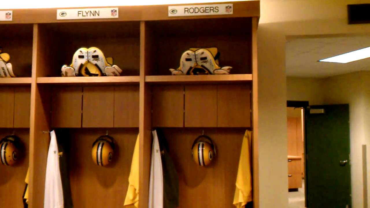 Packers Locker Room Tour