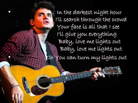 John Mayer Xo Lyrics Youtube