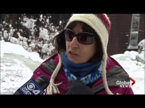 U.S. experience harsh winter weather