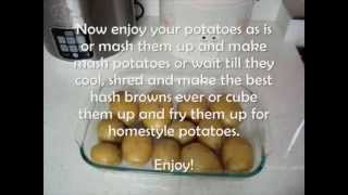 How To Fake Bake/Cook/Steam Potatoes In A Rice Cooker