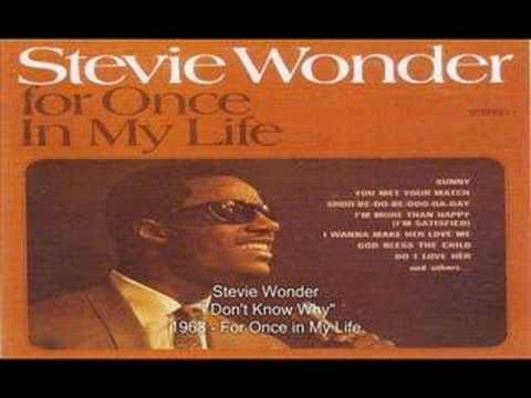 Stevie Wonder - I Don't Know Why
